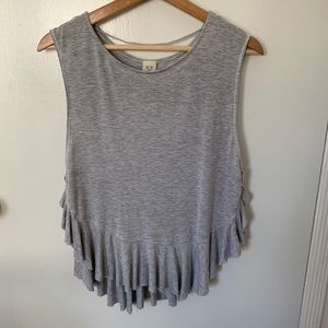 Free people super soft muscle tee